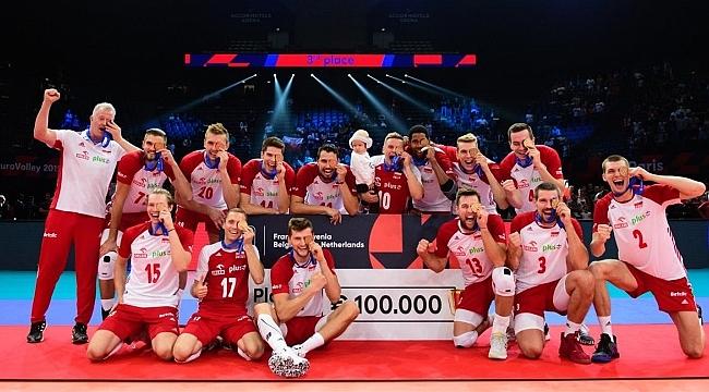 Fransa'yı 3-0 yenen Polonya, Avrupa üçüncüsü oldu