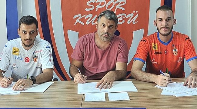 İnegöl Belediyespor'da çifte transfer