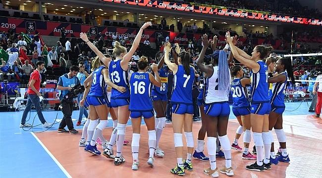 İtalya, 2019 Avrupa Şampiyonası üçüncüsü oldu