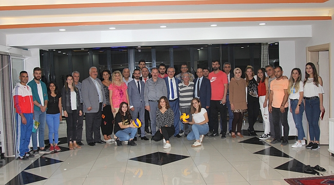 Malatya'da voleybol müzakeresi düzenlendi