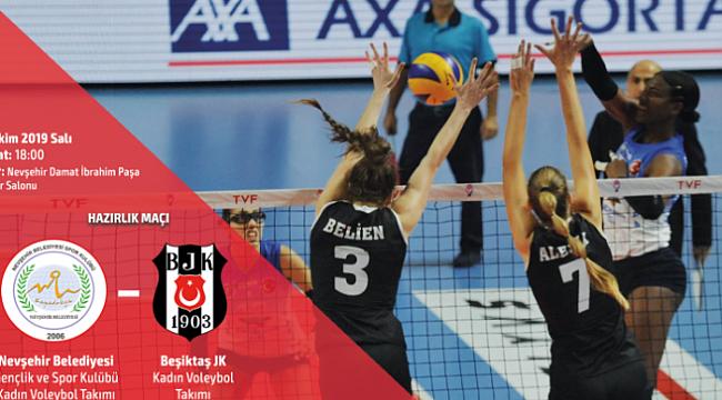 Nevşehir Bld., Beşiktaş'la hazırlık maçı yapacak