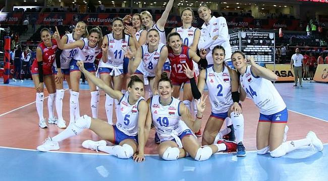 Sırbistan çeyrek finale yükseldi