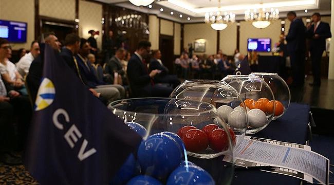 CEV Şampiyonlar Ligi'ndeki Rakipler Belli Oluyor
