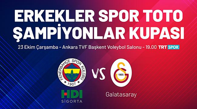 Erkekler Şampiyonlar Kupası Ankara'da Oynanacak