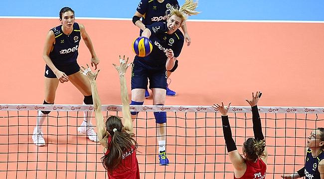 Fenerbahçe Opet, PTT ile hazırlık maçı yaptı
