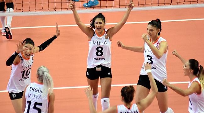 Şampiyonlar Kupası Vakıfbank'ı deviren Eczacıbaşı VitrA'nın!