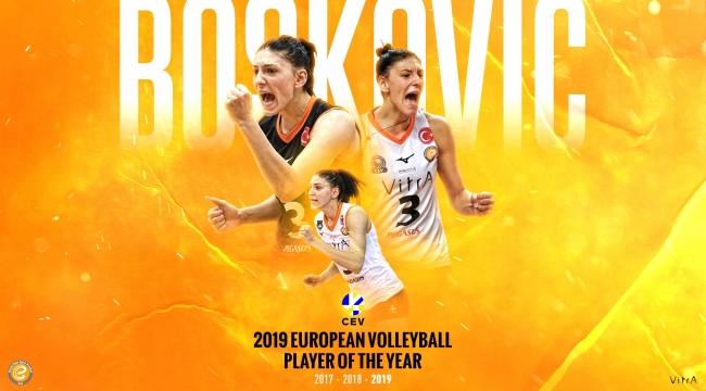 Tijana Boskovic'e büyük onur