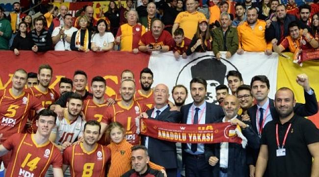 Galatasaray HDI Sigorta'dan Tokat'a set yok