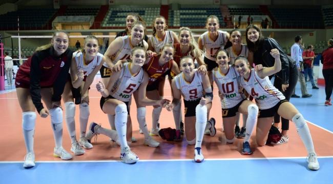 Galatasaray HDI Sigorta, THY'yi 5. sette geçti