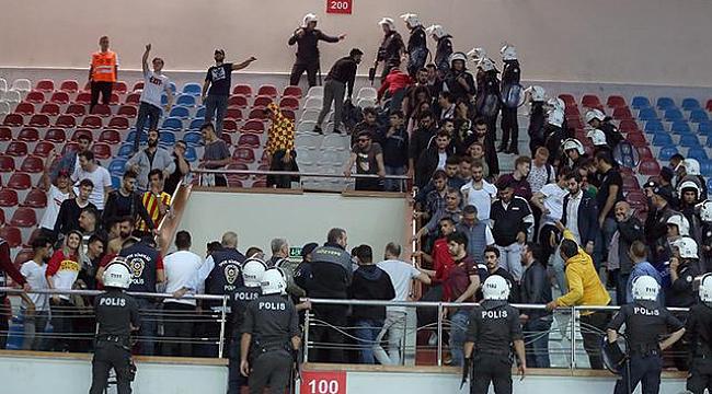 Göztepe Karşıyaka voleybol maçında olay!