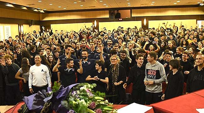 Halkbank, Arı Okulları'nın konuğu oldu