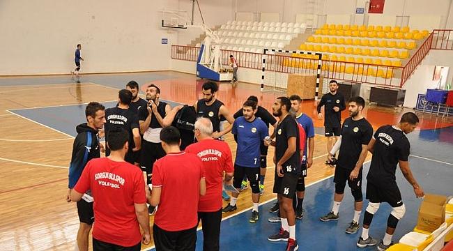 Sorgun Belediyespor, Fenerbahçe HDI Sigorta maçı hazırlıklarını tamamladı