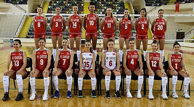 U17 Kız Milli Takım Balkan Şampiyonası'na Balıkesir'de Hazırlanıyor