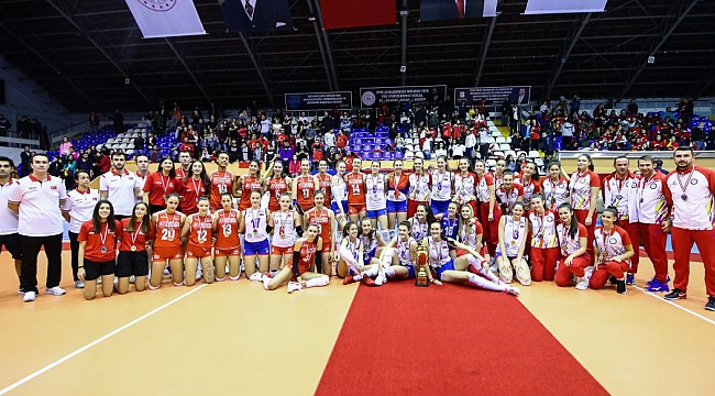 U17 Kız Milli Takımımız, Gümüş Madalya kazandı