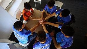 Voleybol tutkusuyla 'dağ köyü'nün takımını 2. lige taşıdılar