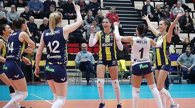 Fenerbahçe Opet, LP Salo'ya set vermedi