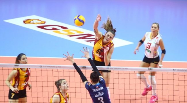 Galatasaray HDI Sigorta, CEV Kupası'na Veda Etti