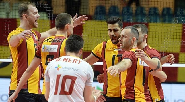 Galatasaray HDI Sigorta deplasmanda galip