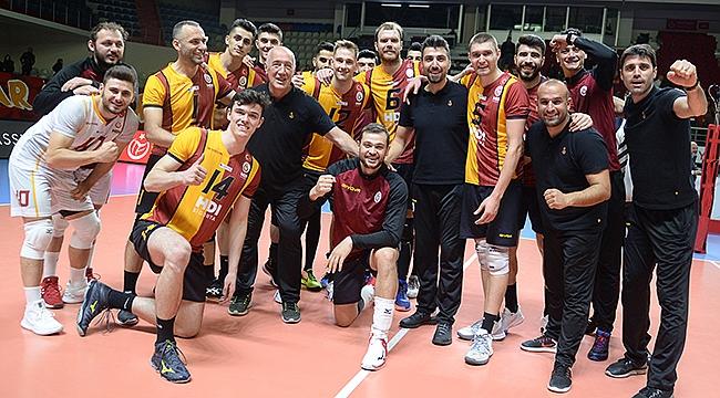 Galatasaray HDI Sigorta, tur için avantaj yakaladı