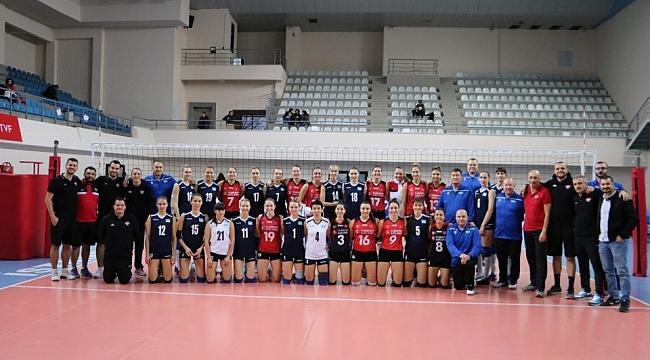 Hazırlık maçının galibi Türk Hava Yolları