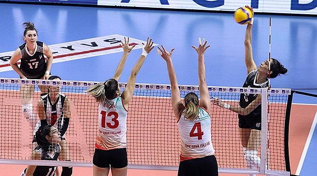 Türk Hava Yolları 1. etap ilk maçında galip