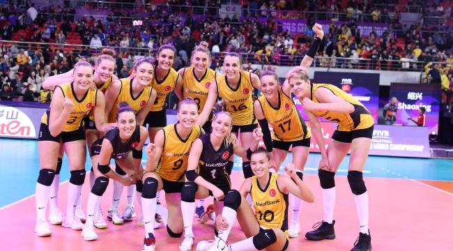 VakıfBank,  Dünya Şampiyonası'nda yarı finalde