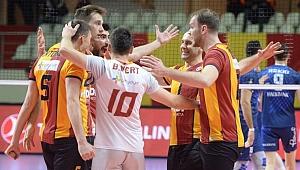 Galatasaray geriden geldi, 5. sette kazandı