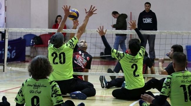 Oturarak Voleybol Avrupa Şampiyonası Antalya'da