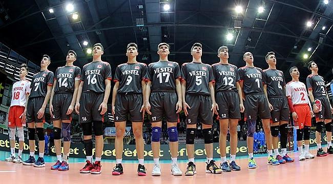 U18 Erkek Millilerimiz, Balkan Şampiyonası'nda 2'de 2 Yaptı