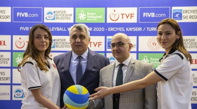 2020 FIVB Kar Voleybolu Dünya Turu'nun tanıtım toplantısı yapıldı