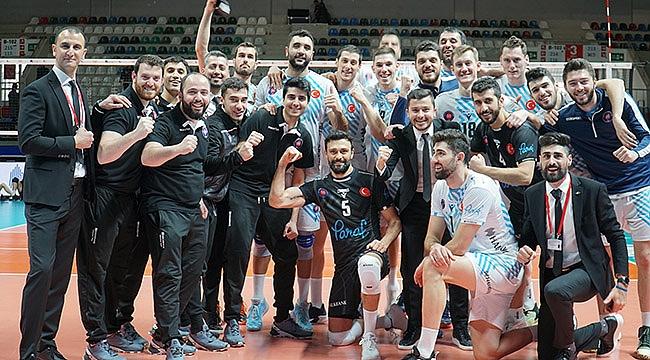 Ankara derbisinin kazananı Halkbank oldu