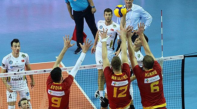Arkas, Galatasaray'ı deplasmanda yendi