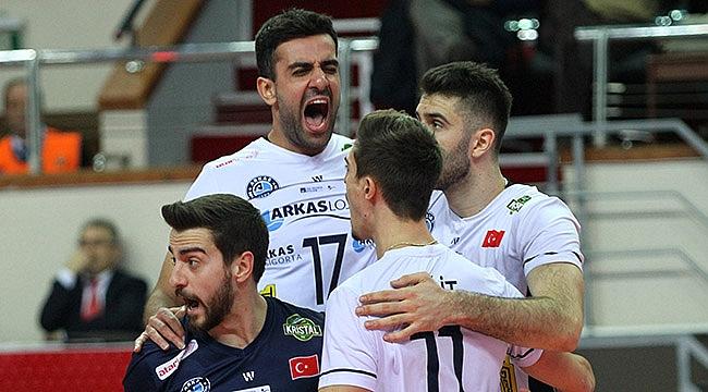 Arkas Spor İstanbul'da Galatasaray'a konuk oluyor
