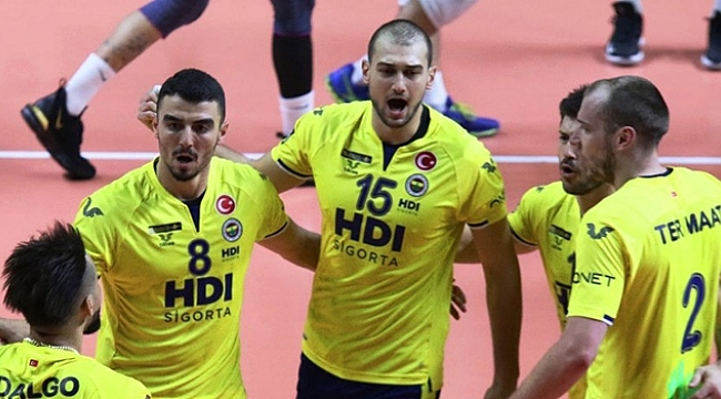 Fenerbahçe HDI Sigorta, Ceske Budejovice Deplasmanında