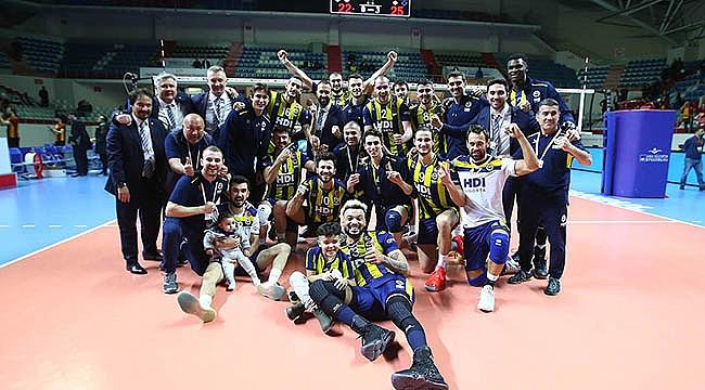 Fenerbahçe HDI Sigorta, liderlik koltuğunu sağlamlaştırdı