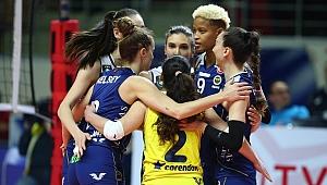 Fenerbahçe Opet Şampiyonlar Ligi'nde çeyrek finalde