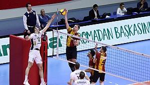 Galatasaray, CEV Kupasında Arkas'tan avantajı kaptı