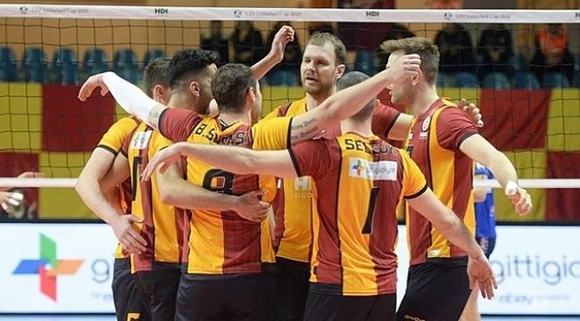 Galatasaray HDI Sigorta Arkas Spor'a rakip oldu
