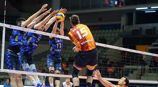 CEV Kupası'nda Arkas Spor ile Galatasaray, yarı final için karşılaşacak
