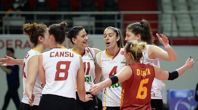 Galatasaray, Beylikdüzü'nü rahat geçti