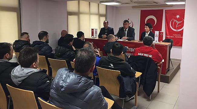 TVF 1. Lig Kadınlar Yarı Final Teknik Toplantısı Yapıldı