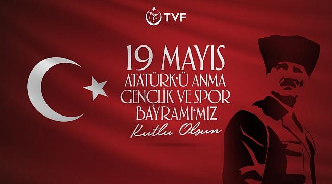 Türkiye Voleybol Federasyonu, 19 Mayıs'ı kutladı