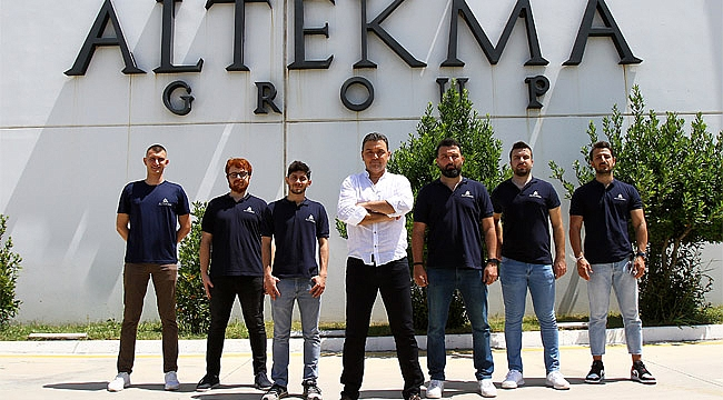 Altekma'da teknik ekip belirlendi