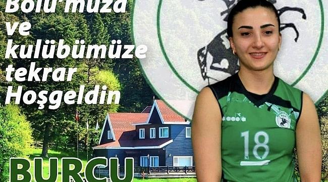 Bolu Belediyespor, Burcu Şentürk ile devam ediyor..