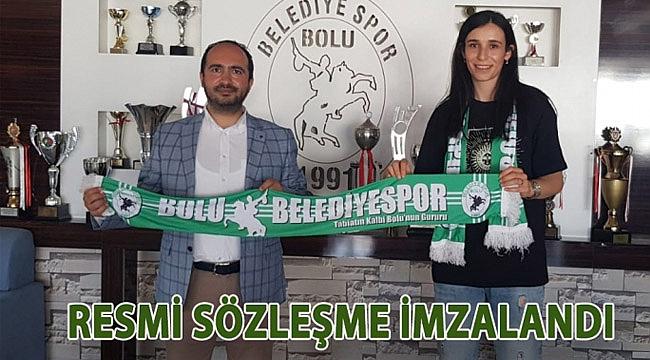 Ceren Çağlar Baysal Bolu Belediyespor'da!