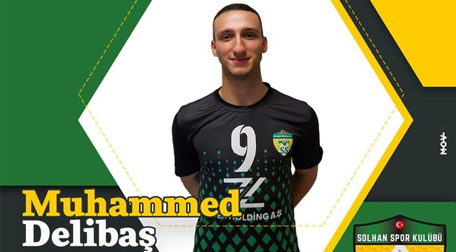 Muhammed Delibaş yeni sezonda da Solhan'da!