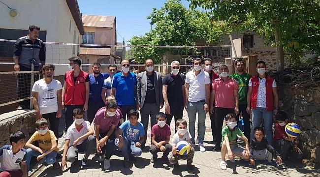 Türkiye Voleybol Federasyonu'ndan Anlamlı Destek