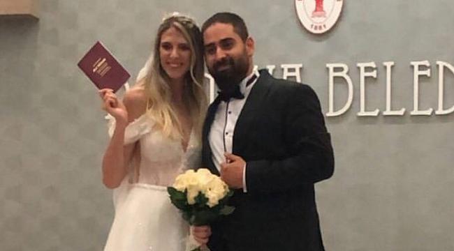 Ayça Ceyna Yavuz ve Burak Keptiğ çifti dünya evine girdi