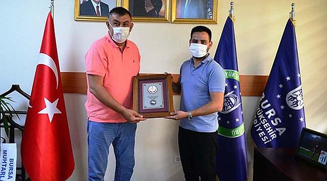 Ersin Yılmaz'dan Başkan Dinçer'e ziyaret
