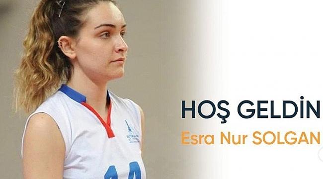 Esra Nur Solgan, Sigorta Shop Kalecik Belediyespor'da!